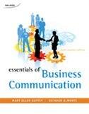 Book Essentials Of Business Communication by Mary Ellen Guffey