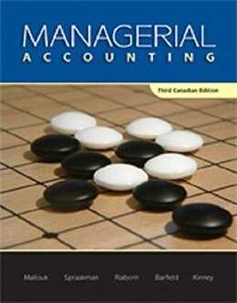Book Student's Solution Manual For Managerial Accounting by Brenda Mallouk