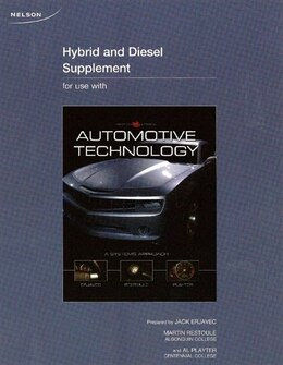 Book Automotive Technology: A System Approach Supplement by Erjave Erjave