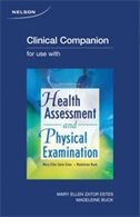 Book Clinical Companion T/a Health Assessment & Physical Examination: First Canadian Edition by Mary Ellen Zator Estes
