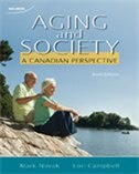 Book Aging And Society: A Canadian Perspective by Mark Novak