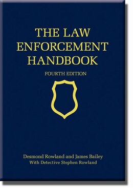 Book The Law Enforcement Handbook by Desmond Rowland
