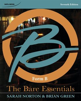 Book The Bare Essentials: Form B by Sarah Norton