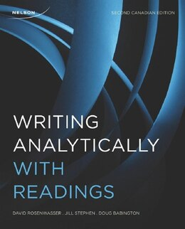Book Writing Analytically With Readings by David Rosenwasser