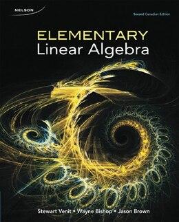Book Elementary Linear Algebra by Stewart Venit