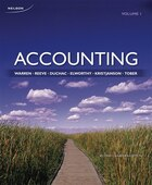 Accounting, Volume 1