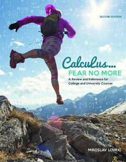 Book Calculus: Fear No More by Miroslav Lovric