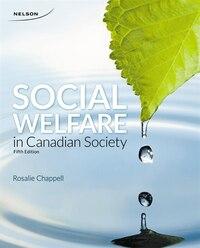 Social Welfare In Canadian Society