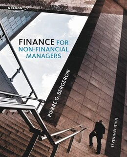 Book Finance For Non-financial Managers by Pierre Bergeron