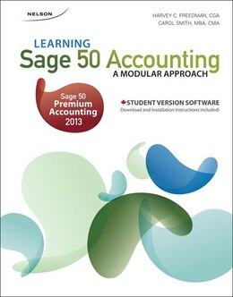 Book Learning Sage 50 Accounting: A Modular Approach by Harvey Freedman