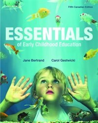 Book Essentials Of Early Childhood Education by Jane Bertrand