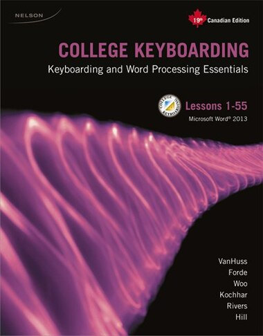 Package: College Keyboarding 1-55, 19th Canadian Edition + Keyboarding Pro  Deluxe Printed Access Card (6 Months)