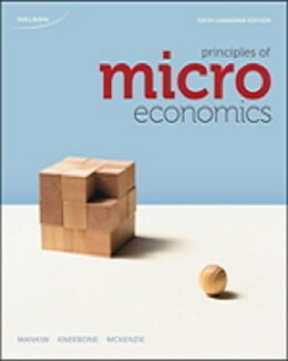 Book Study Guide For Principles Of Microeconomics, Sixth Canadian Edition by N. Gregory Mankiw
