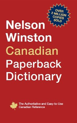 Book Nelson Winston Canadian Dictionary by Nelson College Indigenous Nelson College Indigenous