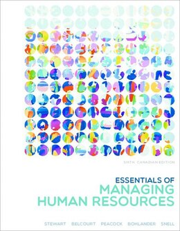 Book Essentials Of Managing Human Resources by Eileen Stewart