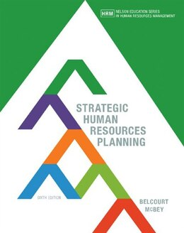Book Strategic Human Resources Planning by Monica Belcourt