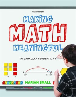 Book Making Math Meaningful, Third Edition: Print Book by Marian Small