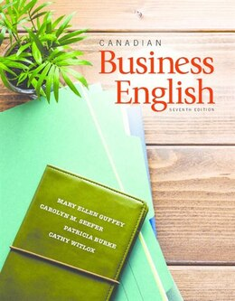 Book Canadian Business English by Mary  Ellen Guffey