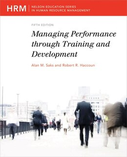 Book Managing Performance Through Training And Development: 2nd Reprint by Alan M Saks