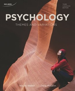Book Study Guide For Psychology: Themes And Variations by Wayne Weiten