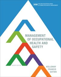 Management Of Occupational Health And Safety