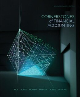 Book Cornerstones Of Financial Accounting by Jay Rich