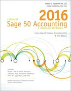 Learning Sage 50 Accounting 2016: A Modular Approach