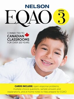 Book EQAO 3 Cards by Nelson