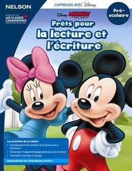 Book Disney Prêt À Lire Et À Écrire Pre-K K Workbook French by Nelson
