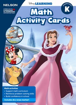 Book Disney Math Problem-Solving Cards K Kit by Nelson