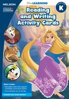 Disney Learning Reading And Writing Activity Cards K Kit