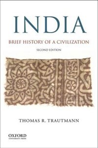 Book India: Brief History of a Civilization by Thomas R. Trautmann