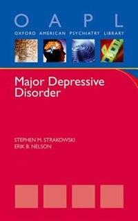 Book Major Depressive Disorder by Stephen Strakowski