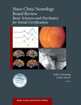 Book Mayo Clinic Neurology Board Review by Kelly D. Flemming