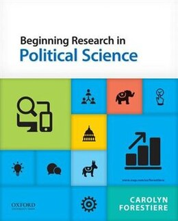 Book Beginning Research in Political Science by Carolyn Forestiere