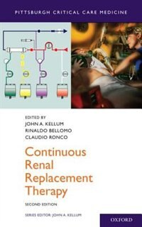 Book Continuous Renal Replacement Therapy by John A. Kellum