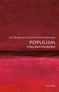 Book Populism: A Very Short Introduction by Cas Mudde