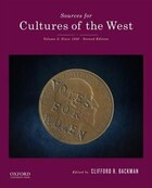 Sources for Cultures of the West: Volume 2: Since 1350