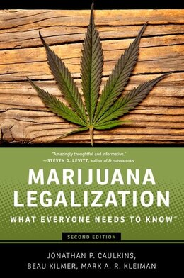 Book Marijuana Legalization: What Everyone Needs to KnowRG by Jonathan P. Caulkins