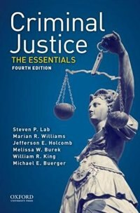 Book Criminal Justice: The Essentials by Steven P. Lab