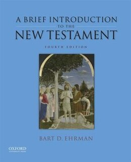 Book A Brief Introduction to the New Testament by Bart D. Ehrman