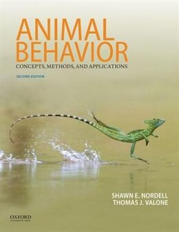 Book Animal Behavior: Concepts, Methods, and Applications by Shawn E. Nordell