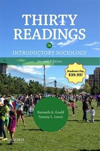 Book Thirty Readings in Introductory Sociology by Kenneth A. Gould