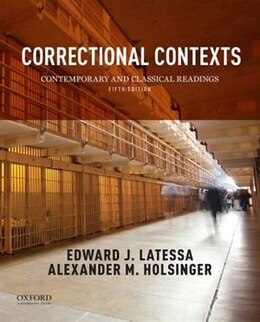Book Correctional Contexts: Contemporary and Classical Readings by Edward Latessa