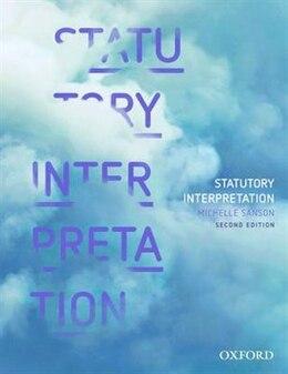 Book Statutory Interpretation by Michelle Sanson