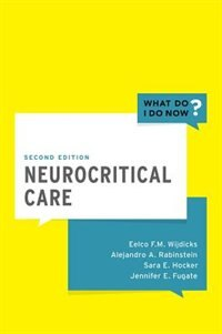 Book Neurocritical Care by Eelco F.M. Wijdicks
