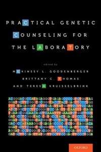 Book Practical Genetic Counseling for the Laboratory by McKinsey L. Goodenberger