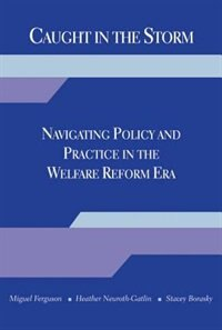 Book Caught in the Storm: Navigating Policy and Practice in the Welfare Reform Era by Miguel Ferguson