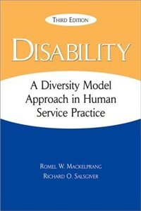 Book Disability: A Diversity Model Approach in Human Service Practice by Romel Mackelprang