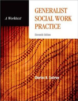 Book Generalist Social Work Practice: A Worktext by Charles Zastrow